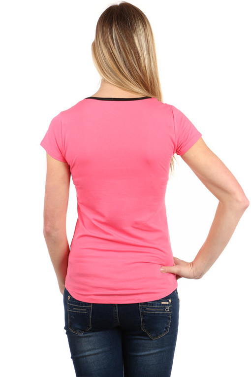 Women's cotton t-shirt LA