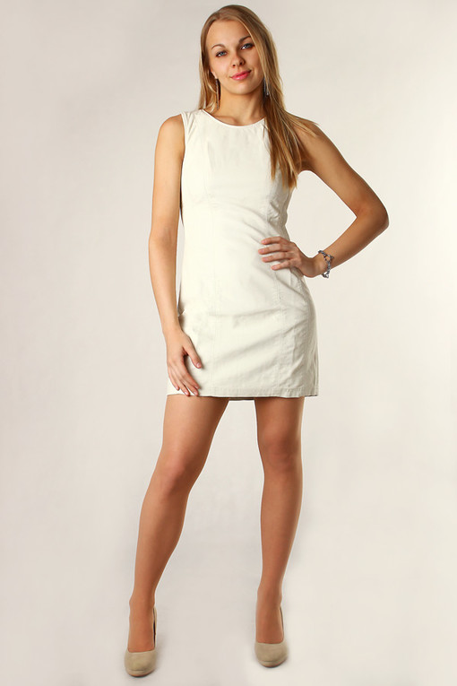 Women's leatherette dress