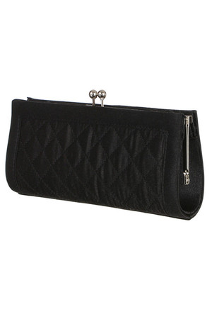 Women's clutch with pattern and stylish fastening. Large compartment and small pocket inside. Chain strap 125cm. Dimensions: