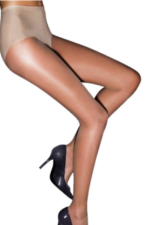 Classic women's nylons, even more elastic. Reinforced seat and tip. Material: 86% polyamide, 14% elastane