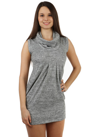 Modern dress suitable for cold weather. Ideal for leggings. Import: Italy Material: 95% viscose, 5% elastane