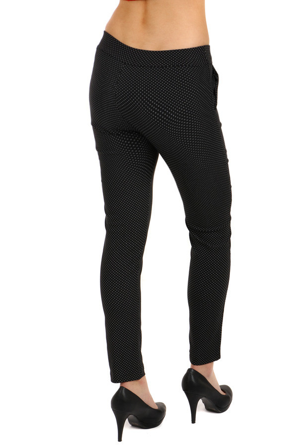 Women's trousers with polka dots