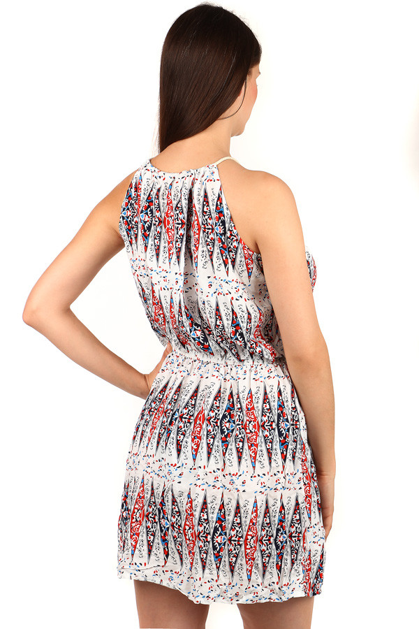 Women's patterned mini dress
