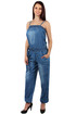 Women's Long Denim Overall