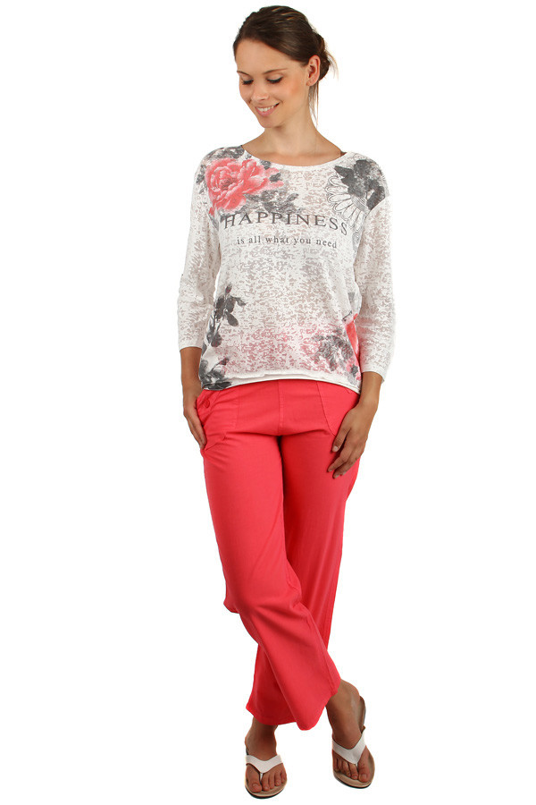 Loose ladies trousers plus size