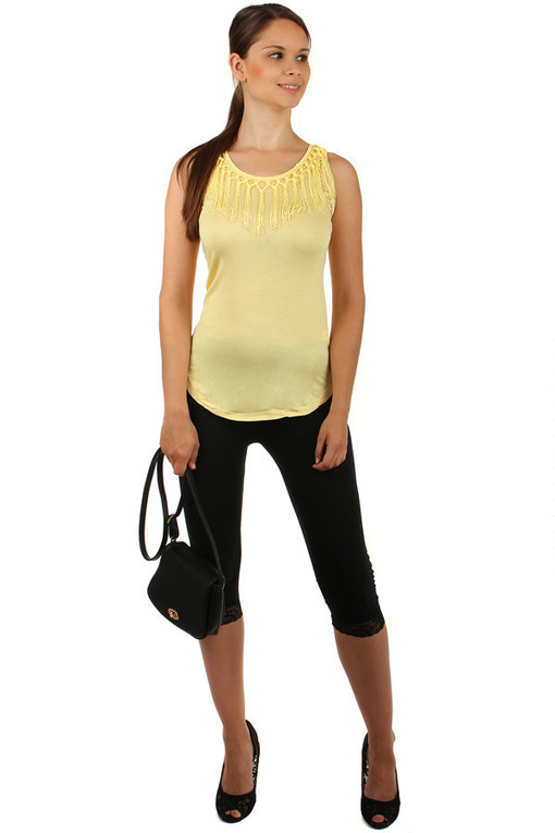 Women's Tank Top Fringes