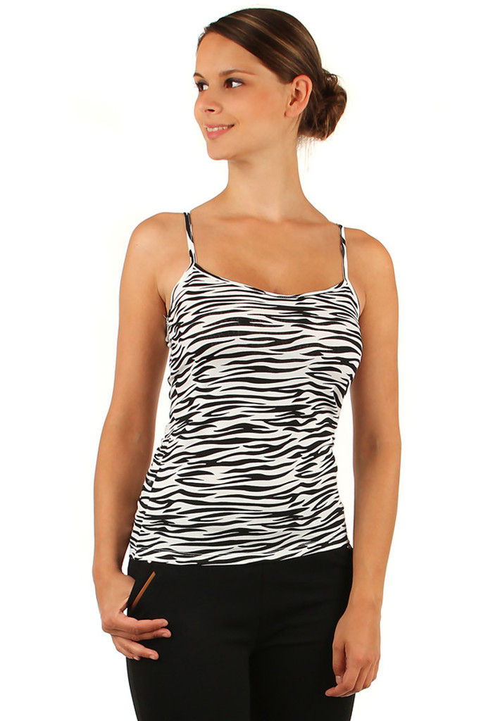 Women's ribbed summer tank top