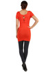 Women's long t-shirt knitted