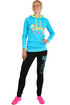 Women's tracksuit neon sign