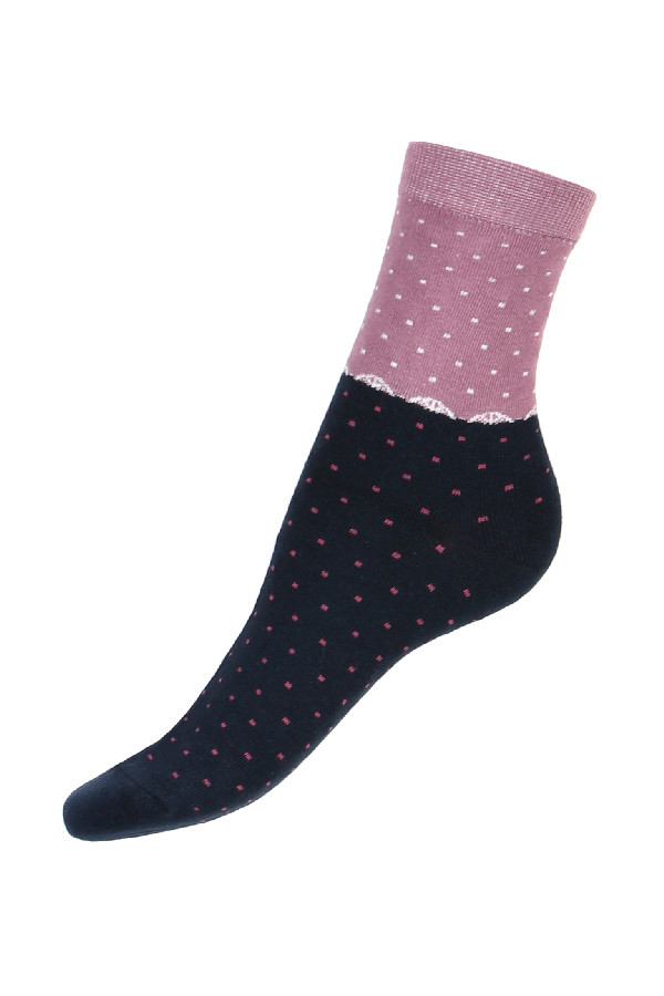 Women's Two-Color Socks