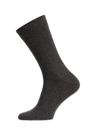 Classic men's single socks. Material: 80% cotton, 17% polyamide, 3% elastane