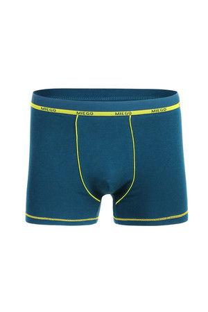 Boxers with neon trim. Material: 95% cotton, 5% elastane.