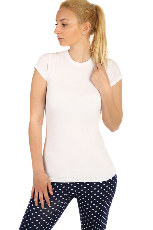 Women's short sleeve cotton t-shirt