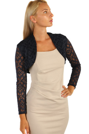 Women's elegant full-length bolero in various colors. Material: 95% polyester, 5% elastane