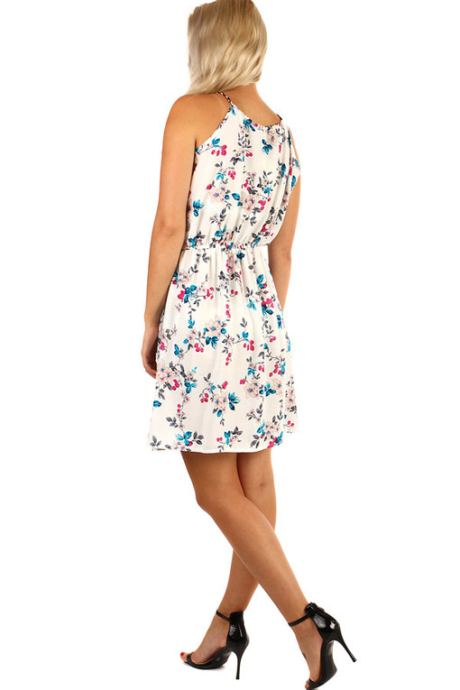 Summer short dress flowers