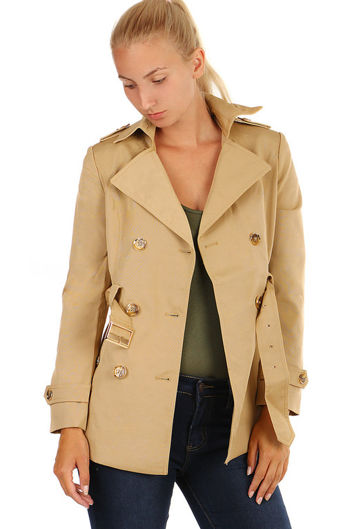 Ladies Trench Coat plus size