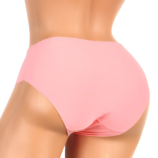 High-waist microfiber women's briefs