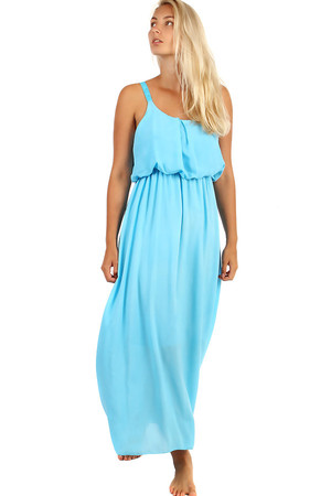 Summer maxi dress. Material: 95% viscose, 5% elastane. Import: Italy