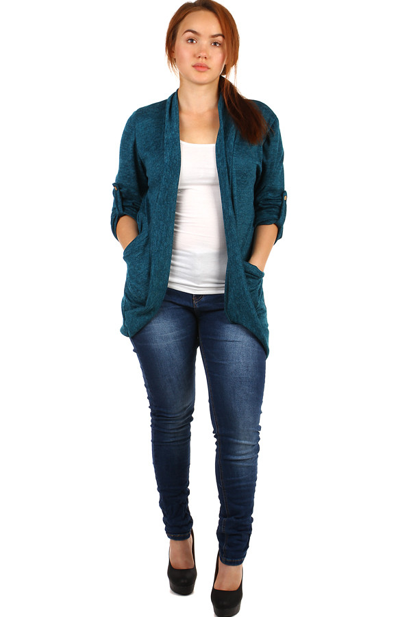Women's long sleeve cardigan