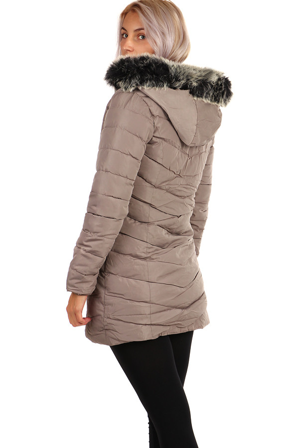 Women's quilted winter coat