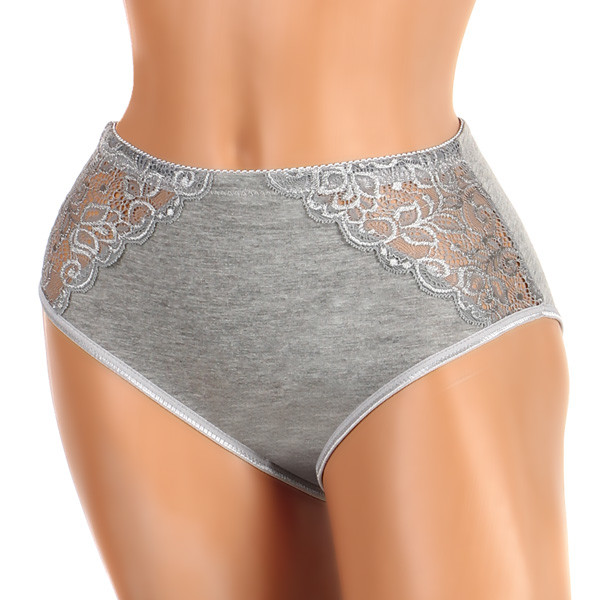 Women's cotton lace panties plus size