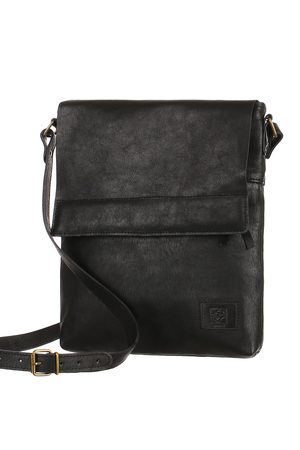 Handmade Genuine Leather Bag. for both men and women A4 format zipped and patented two outer zip pockets inside one small
