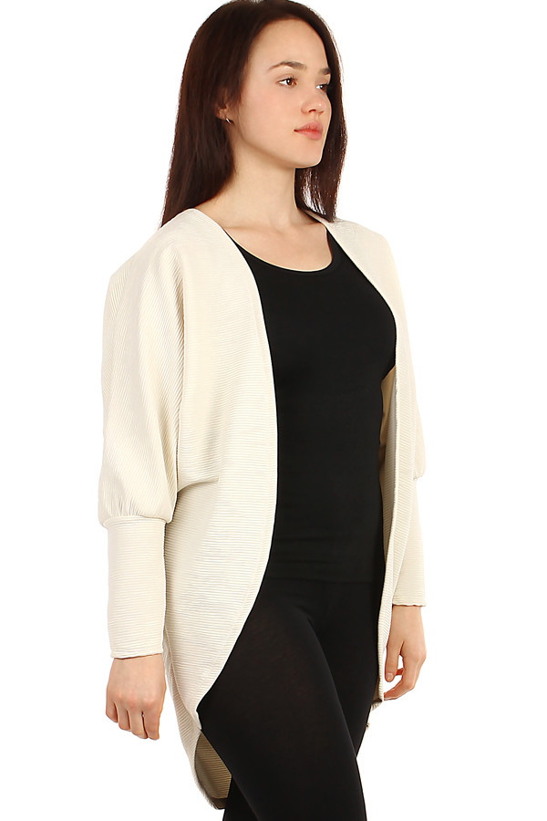 Women's free cardigan without zip