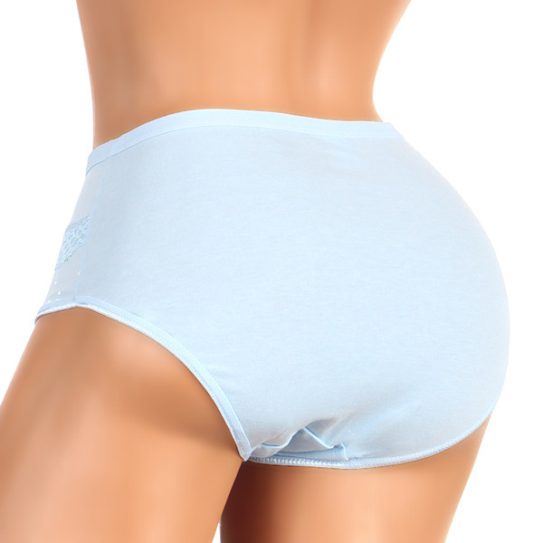 Women's high-waist cotton panties plus size