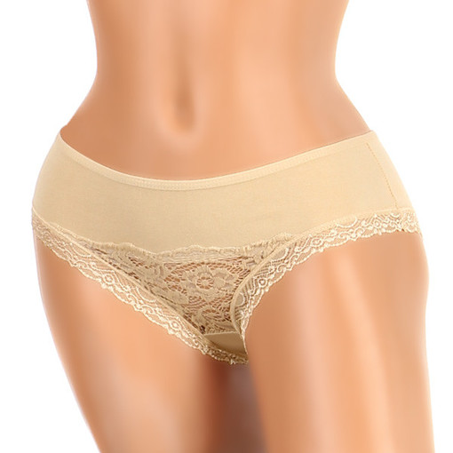Women's cotton lace panties
