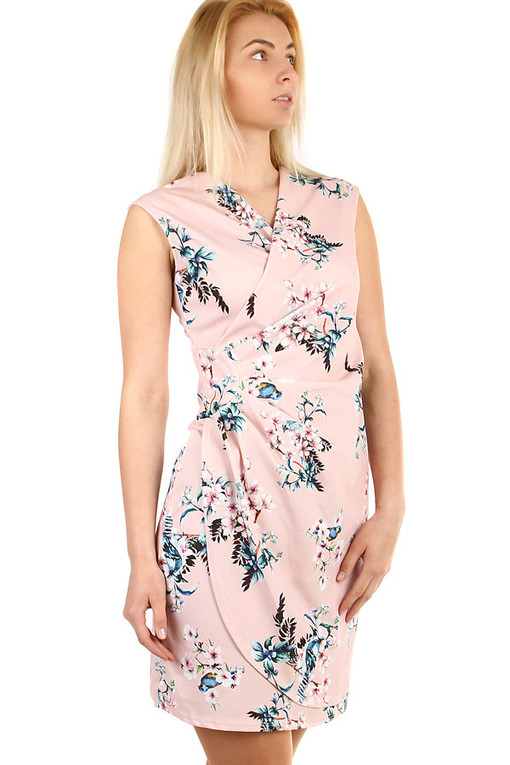 Womens dress with print