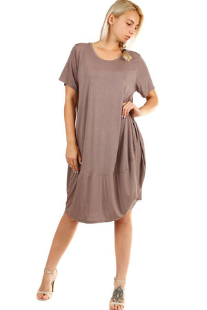 Women's beach dress, short sleeves. Also suitable for full body. Material: 95% viscose, 5% elastane Import: Italy