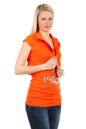 Women's sport bolero for T-shirts and tank tops. Material: 60% cotton, 35% polyester, 5% elastane