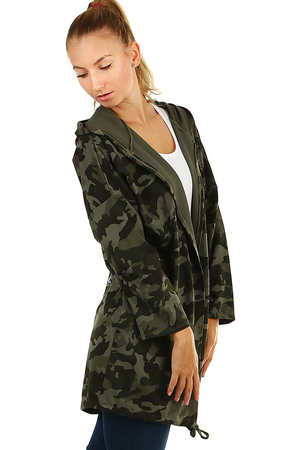 Free camouflage cardigan - jacket without fastening soft, strong, comfortable to wear camouflage pattern will hide any dirt