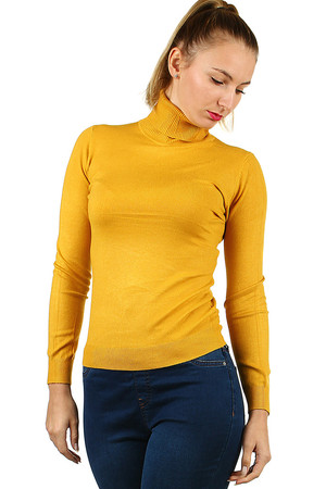 Lightweight women's turtleneck sweater will be an indispensable addition to your minimalist wardrobe. long sleeve normal