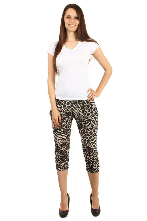 Women's free pants with print