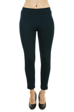 Elegant women's leggings. Small pockets at the back. Up to size 2XL / 4XL. The material is thicker and more flexible - the