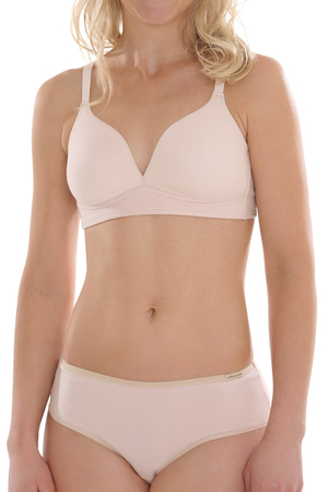 Women's bra without bones made of organic cotton from the German brand Comazo / earth healthy and comfortable product