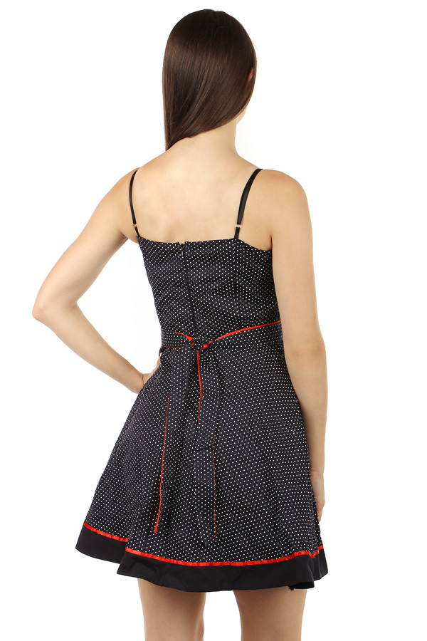 Polka dot retro style dress