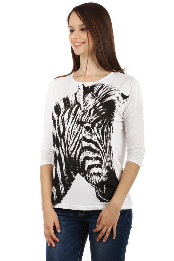 Women's t-shirt zebra