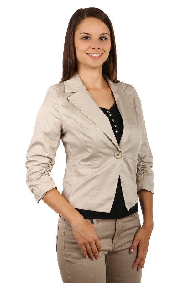 Women's jacket short sleeves