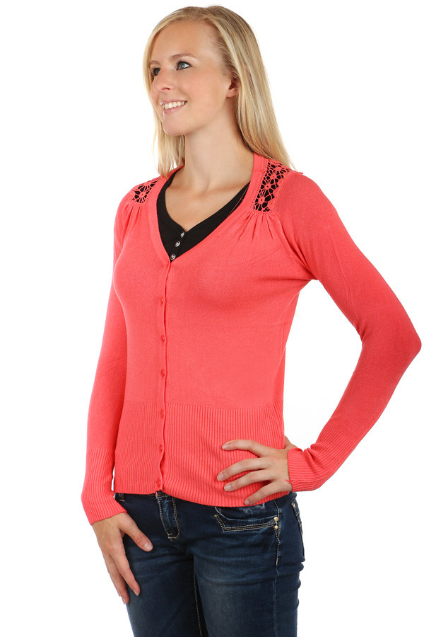 Ladies lace sweater