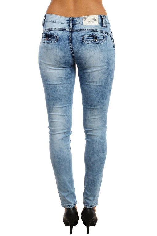 Jeans with a printed effect