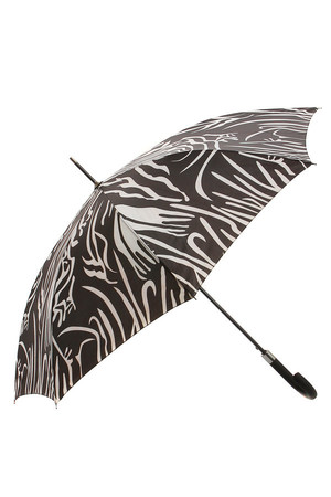 Luxury umbrella with metal toe cap. Hook and loop fastener for folding umbrella. The size of the unfolded umbrella is 108cm.