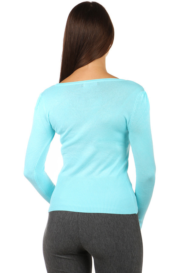 Women's sweater with cutouts